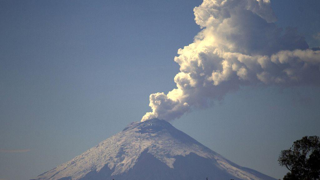 Septiembre, octubre y noviembre, gran período volcánico (Volcán Cotopaxi, Ecuador)