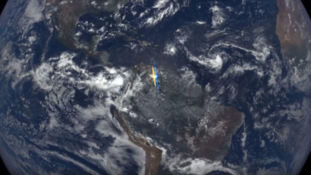 Brillos de la Tierra desde el espacio