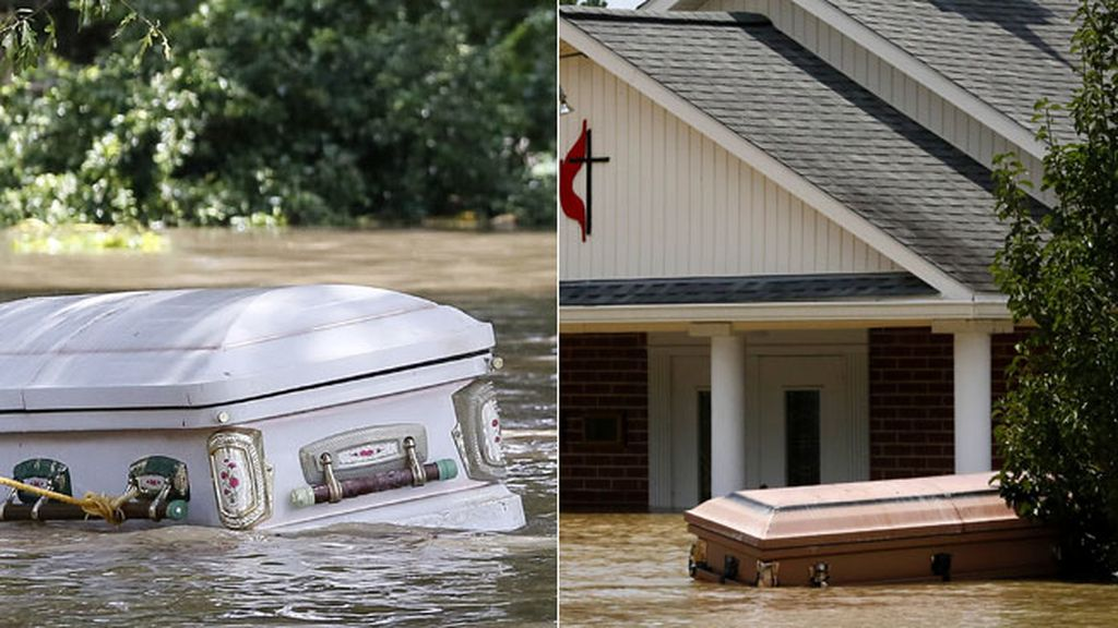 Es la peor catástrofe desde el huracán Katrina, según el gobernador del estado de Louisiana