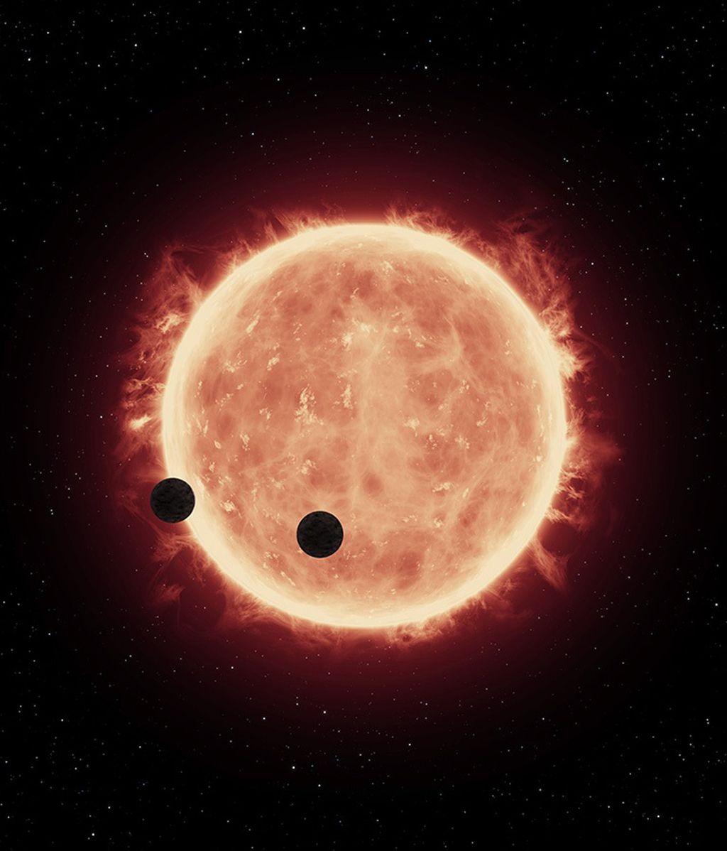 planetas hermanos