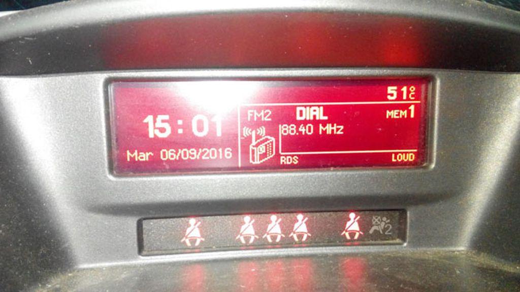 Lucía Gomariz viaja en su coche por las calles de Córdoba con 51 grados