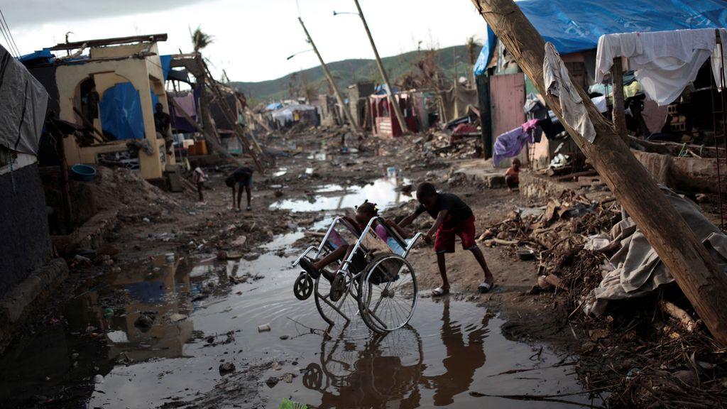 La destrucción del huracán 'Matthew' reflejada en esta desoladora imagen de octubre en Haití