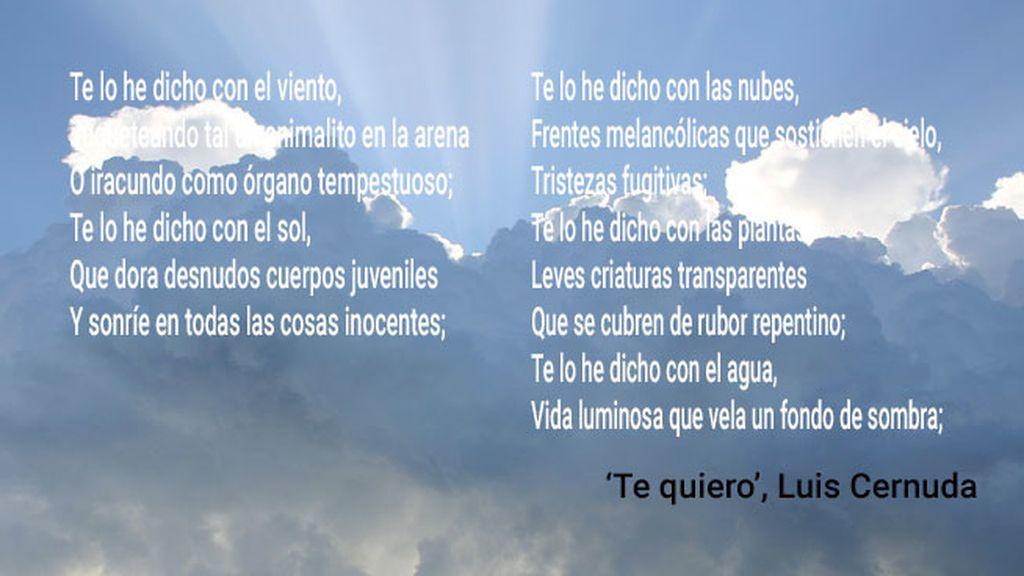 Rescatamos antología poética 'meteo' de grandes como Bécquer, Lorca o Cernuda