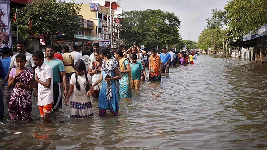 Al menos 269 muertos en Chennai