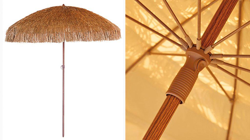 Con cargador de m vil microclima o de lujo bienvenidos for Como hacer una sombrilla para jardin
