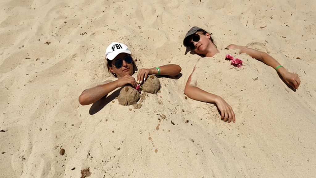 Erotismo en la arena ¿por qué no?