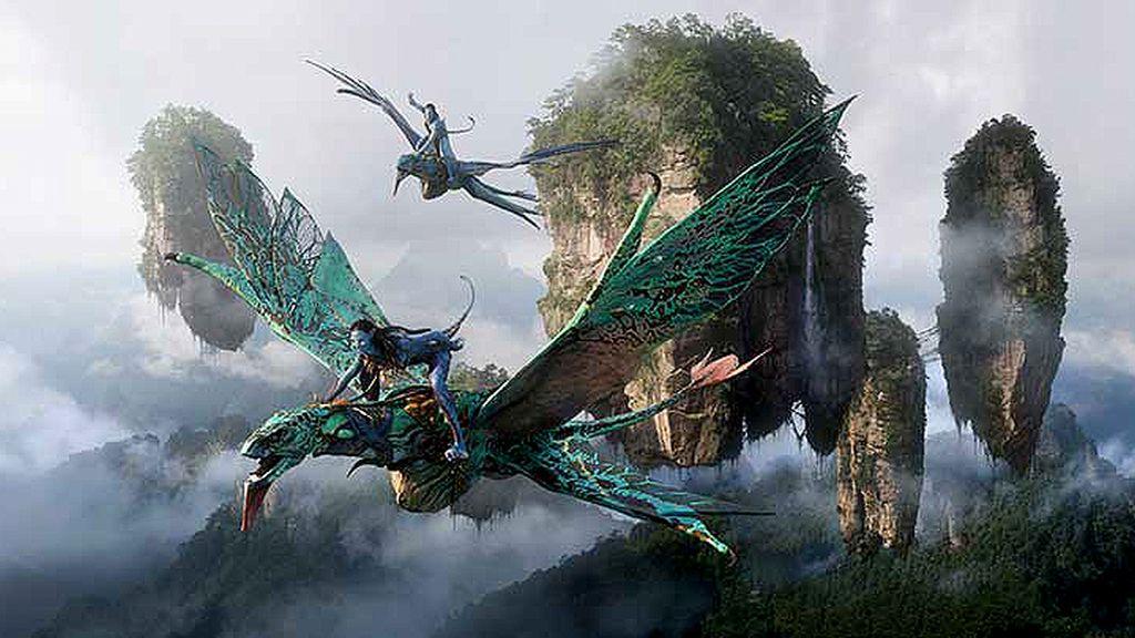 Las montañas flotantes de 'Avatar'