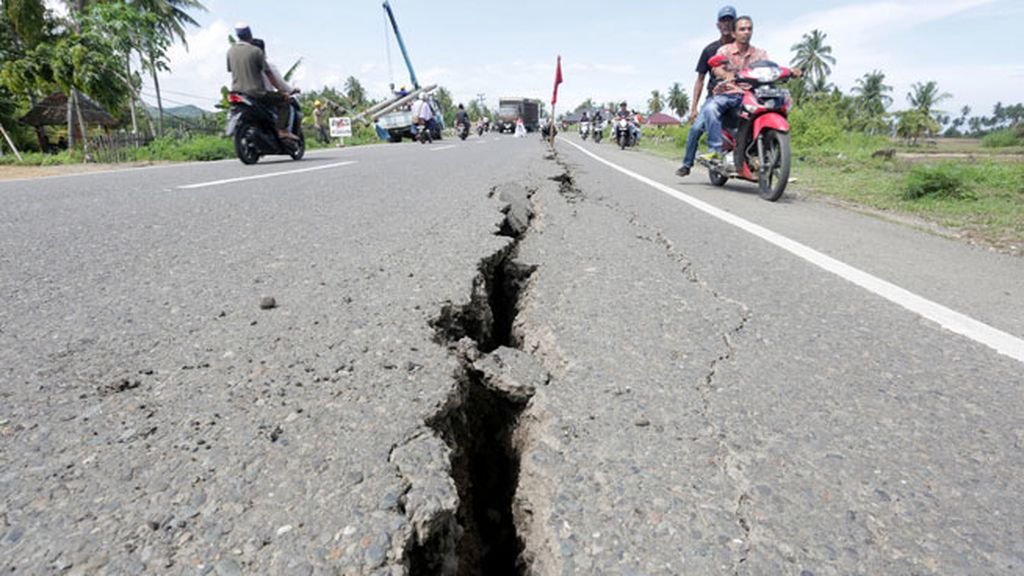 De magnitud 6,5 y a 8,2 kilómetros de profundidad