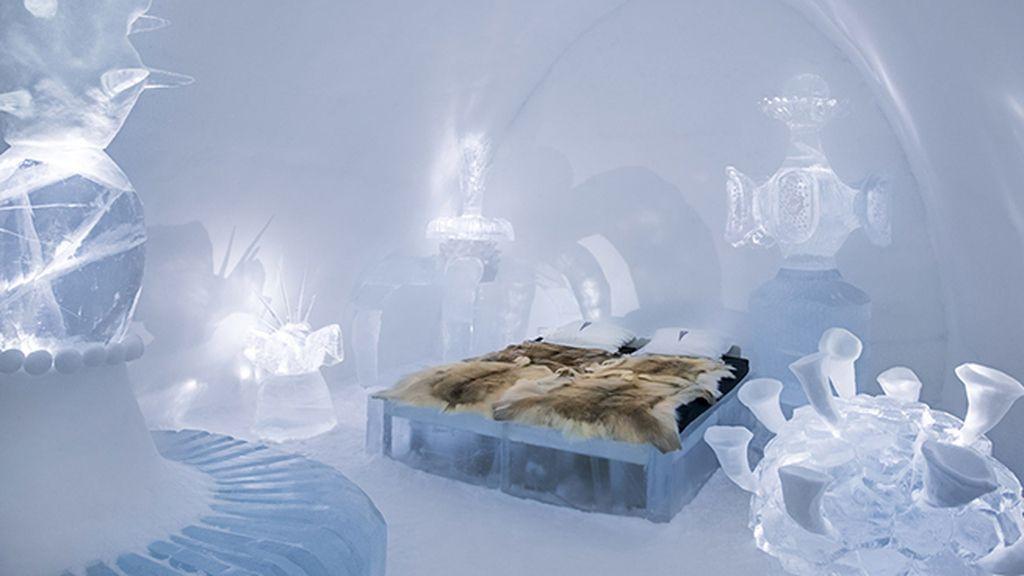 Icehotel en Jukkasjarvi, Suecia: el más grande y antiguo