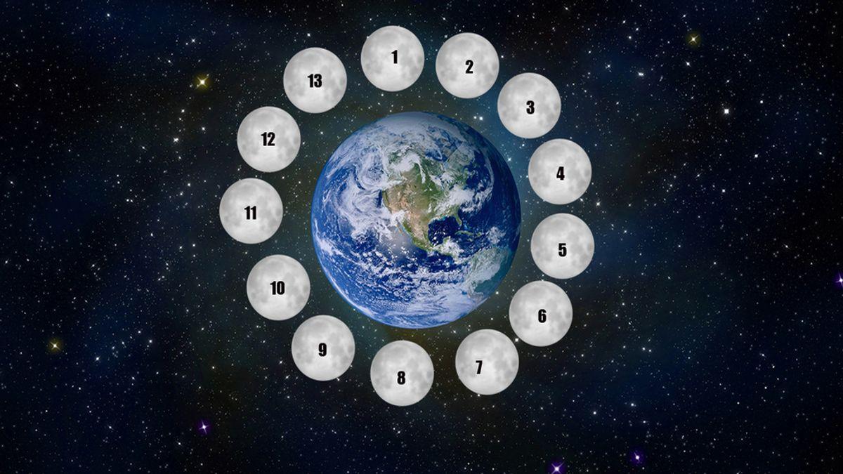 Calendario 13 lunas
