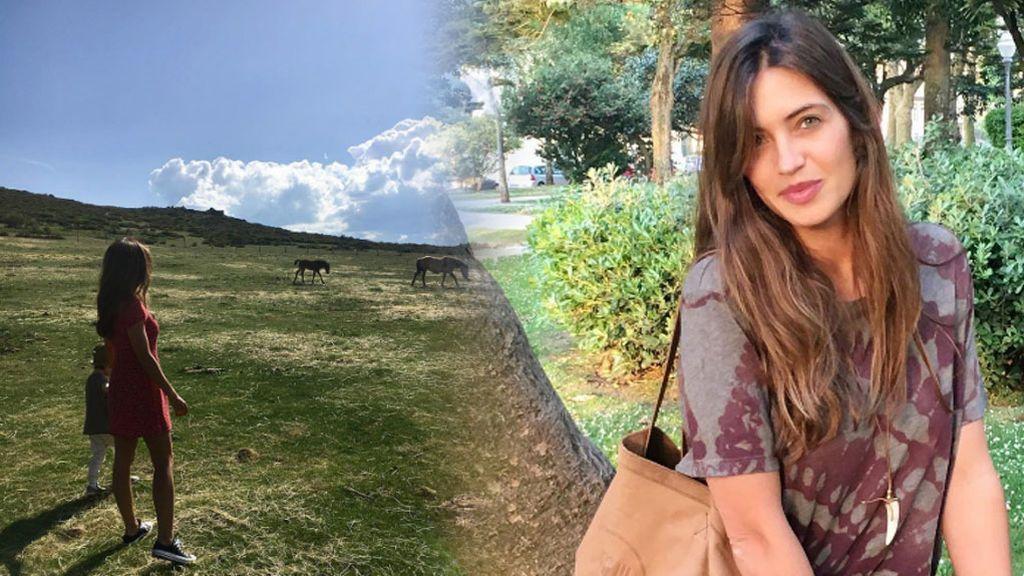 """Sara Carbonero y familia sin wifi """"encontrando mejor conexión"""""""