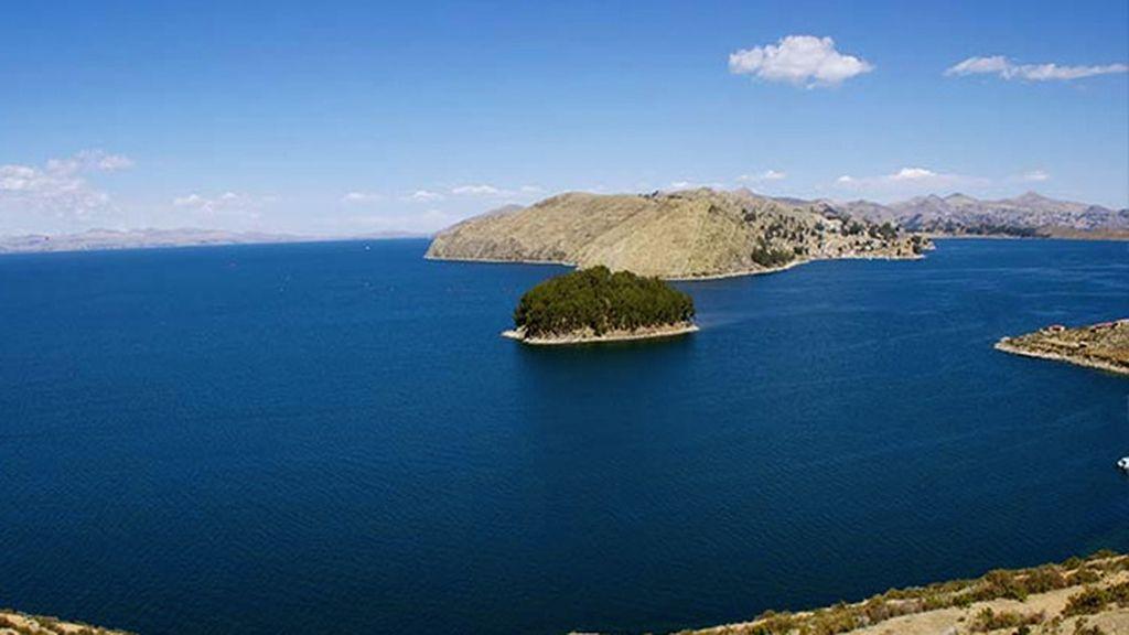 ¿Un chapuzón en el lago Titicaca?