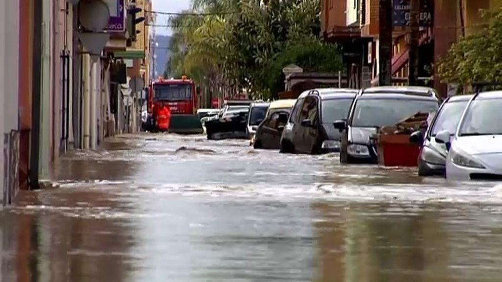 Inundación en Los Alcáceres (Murcia)