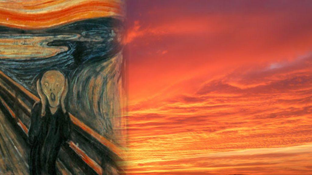 'El grito' de Munch y su vínculo con un insólito fenómeno atmosférico