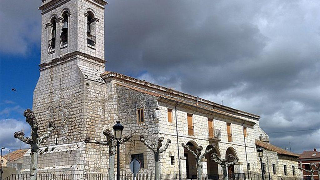 La niebla del Rey en Villanubla (Valladolid)