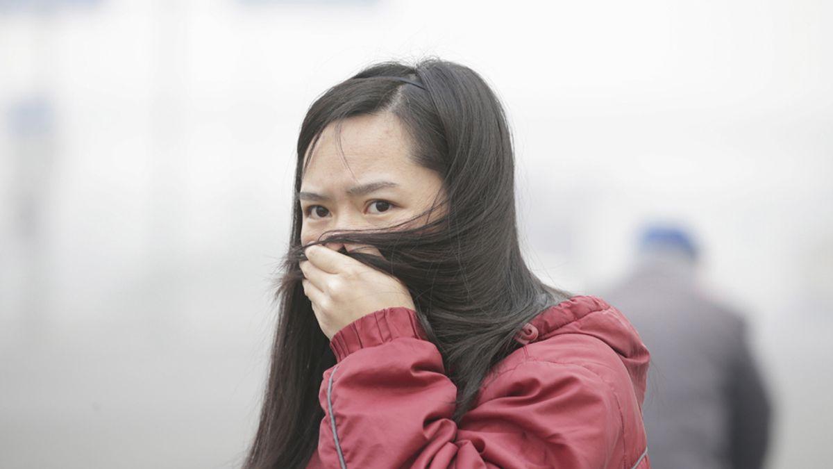La nube de contaminación en Pekín es más grande que la extensión de toda España