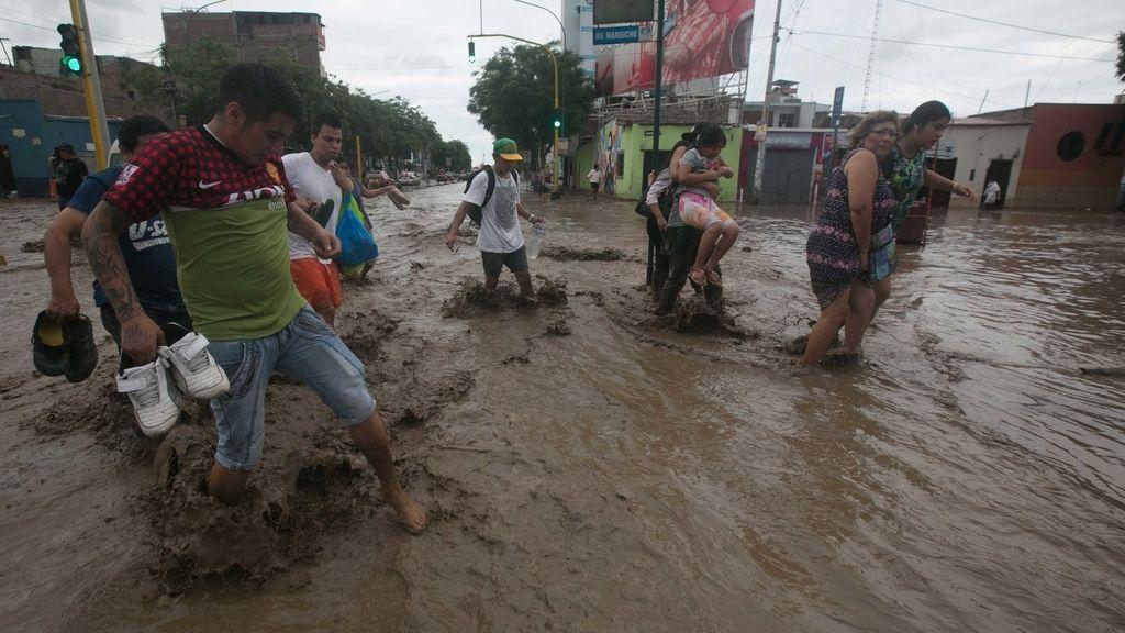 En total, se calcula que hay 62.600 damnificados por las lluvias