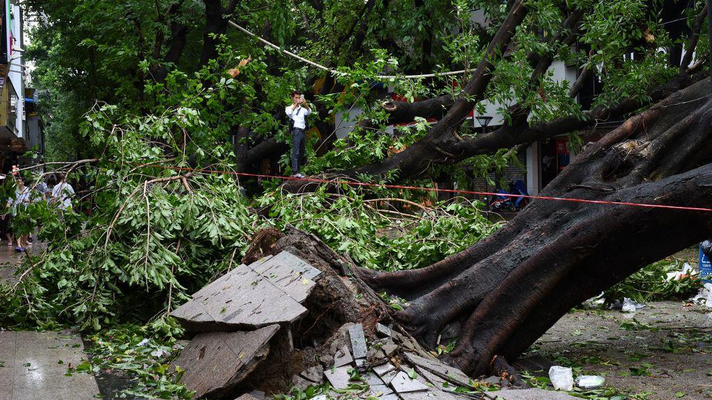 El tifón Nina (1975), ha sido el más destructivo en China, con 229.000 muertos