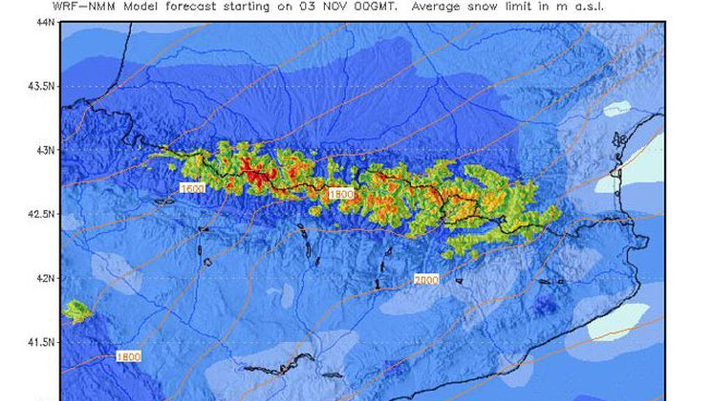 Mapa nieve