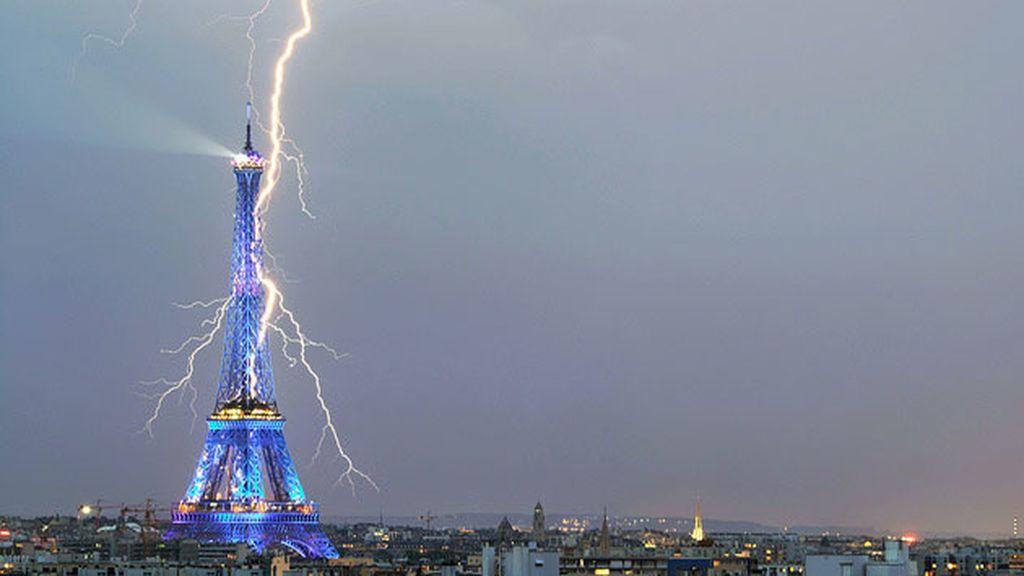La Tour Eiffel (París, Francia). Septiembre de 2011