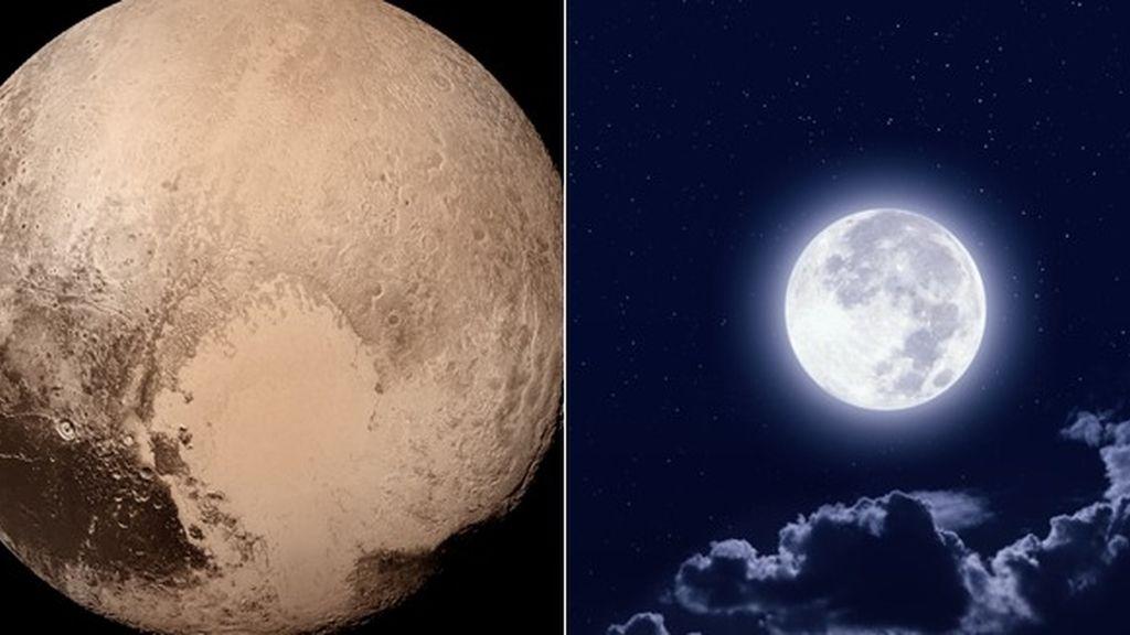 Luna y Pluton