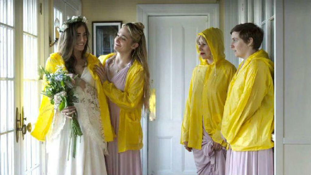 Las chicas de 'Girls' también se mojan