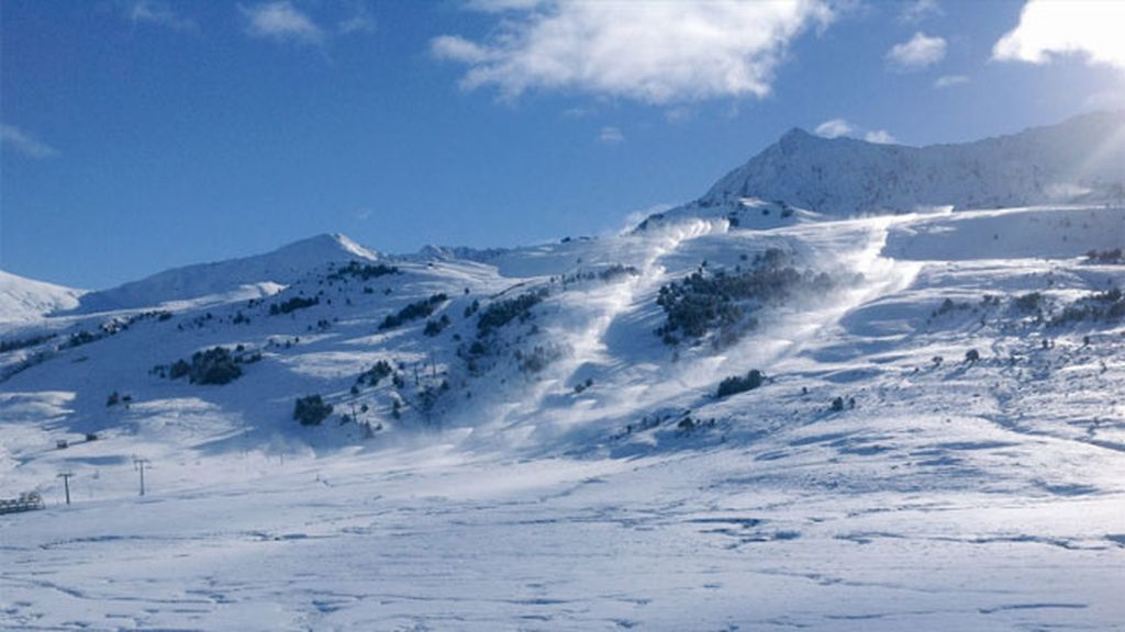 La estación de esquí de Baqueira Beret en el Valle de Arán del Pirineo catalán (@baqueira_beret)