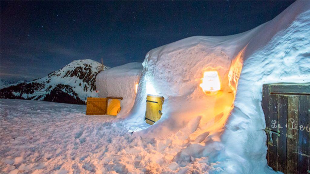 Village Igloo Blacksheep en La Plagne, Francia: con calefacción