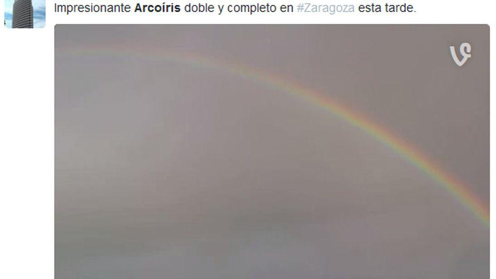arco iris zaragoza