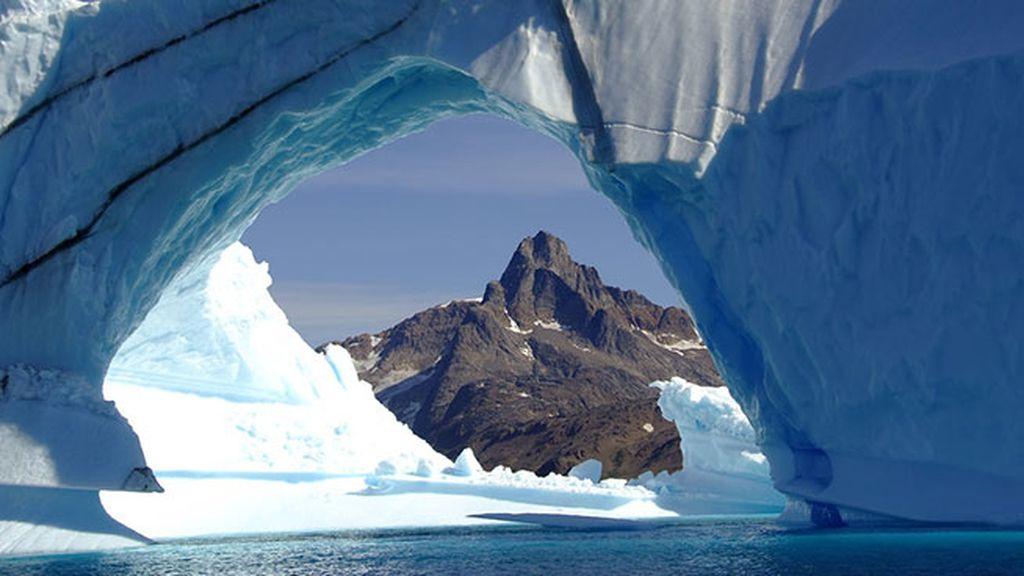 Fiordo de Ilulissat, en Dinamarca