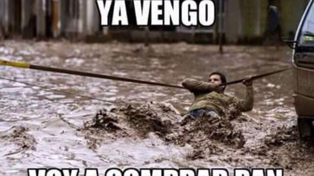 Memes lluvia 2