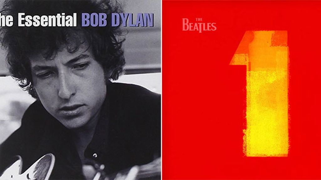 'The Essential Bob Dylan' o '1' de The Beatles