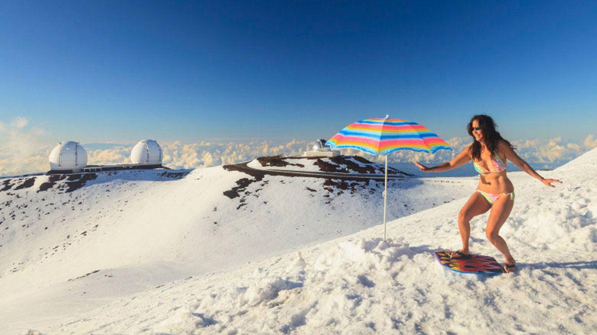 hawái nieve
