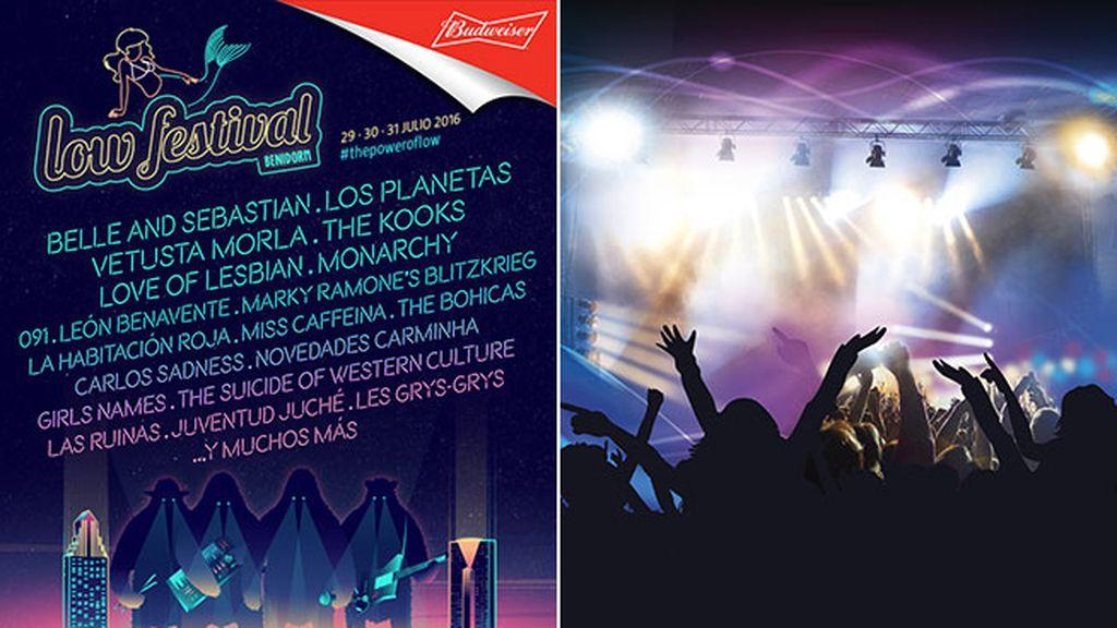 Julio de festival en festival