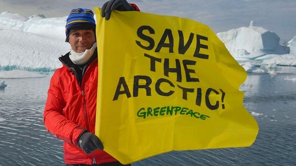 Alejandro Sanz por el Ártico