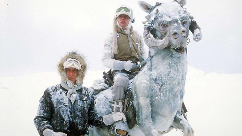 Hoth, el planeta de hielo