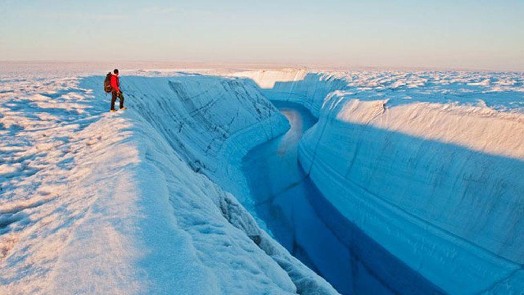 grieta Groenlandia