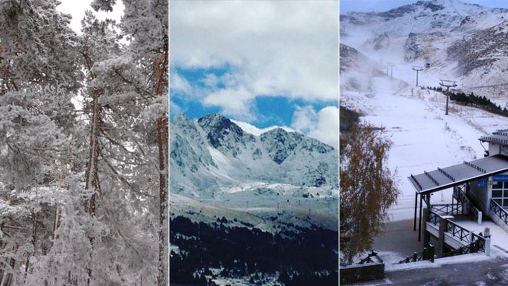 Las estaciones de esquí podrían adelantar su apertura gracias al frío y la nieve