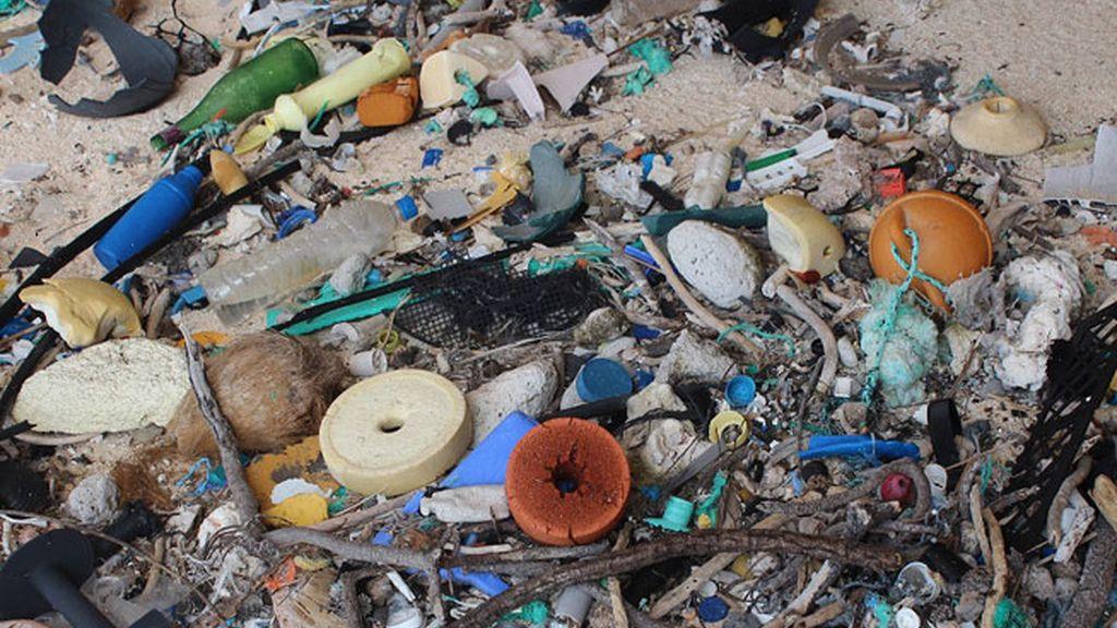 Contaminación en la playa
