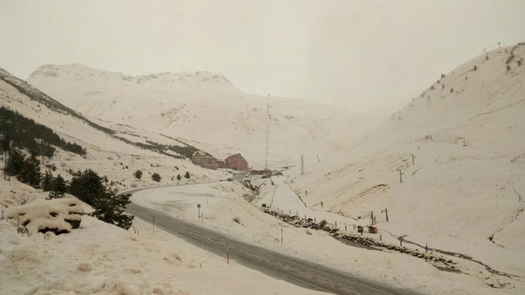 La estación de esquí de Astún en Jaca