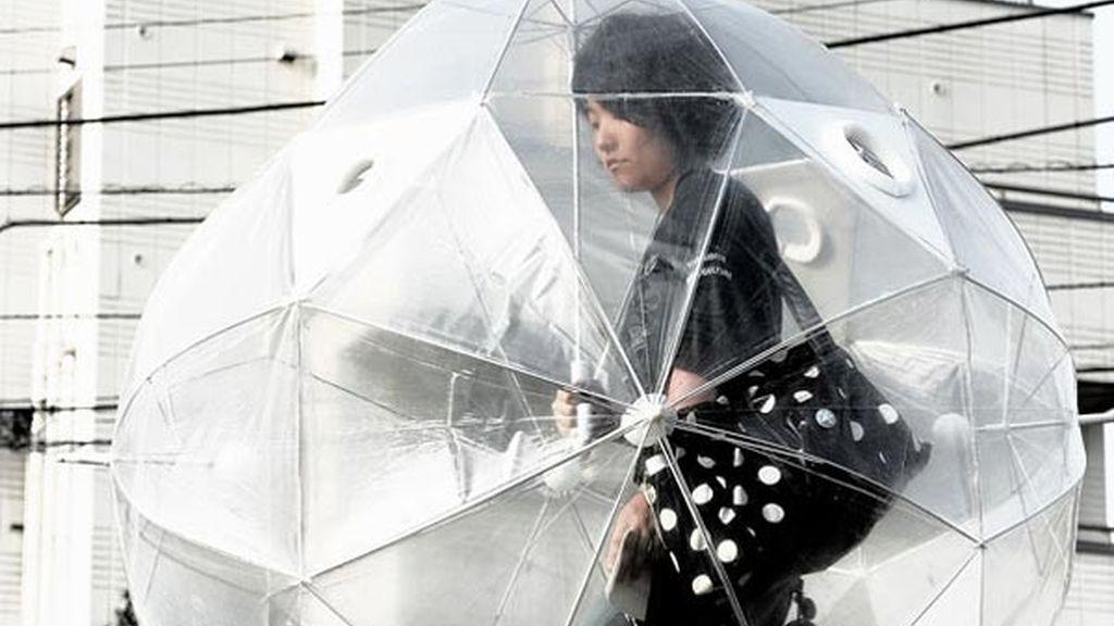 Paraguas nave