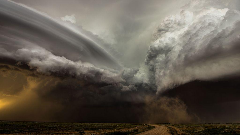 Segundo puesto: El choque te tormentas en Nuevo México (EE UU)