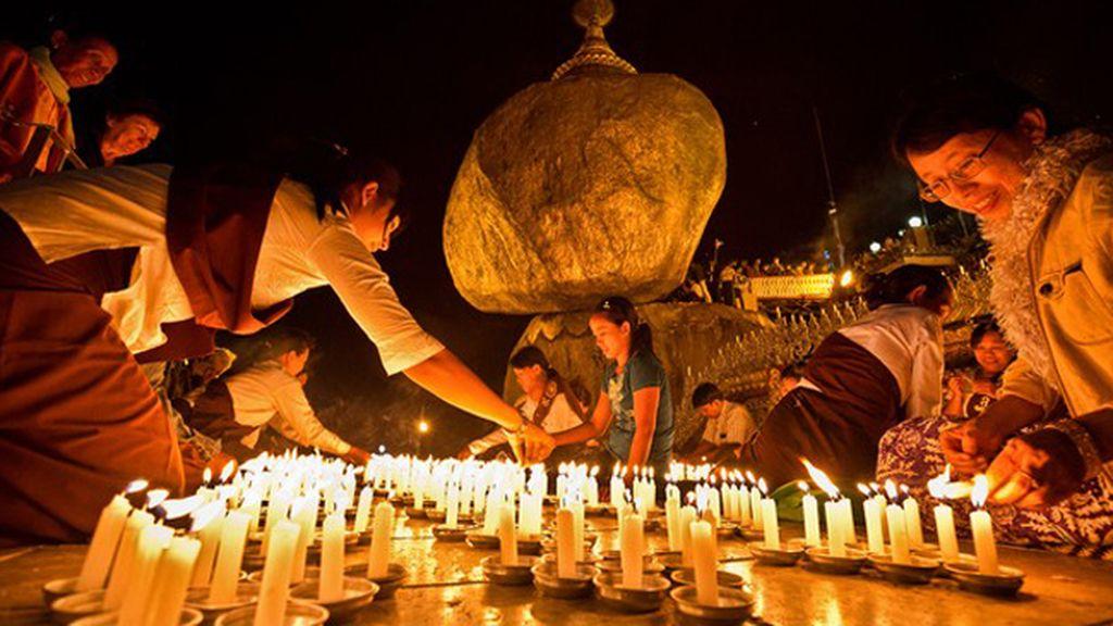 Festival de Thadingyut, en Myanmar