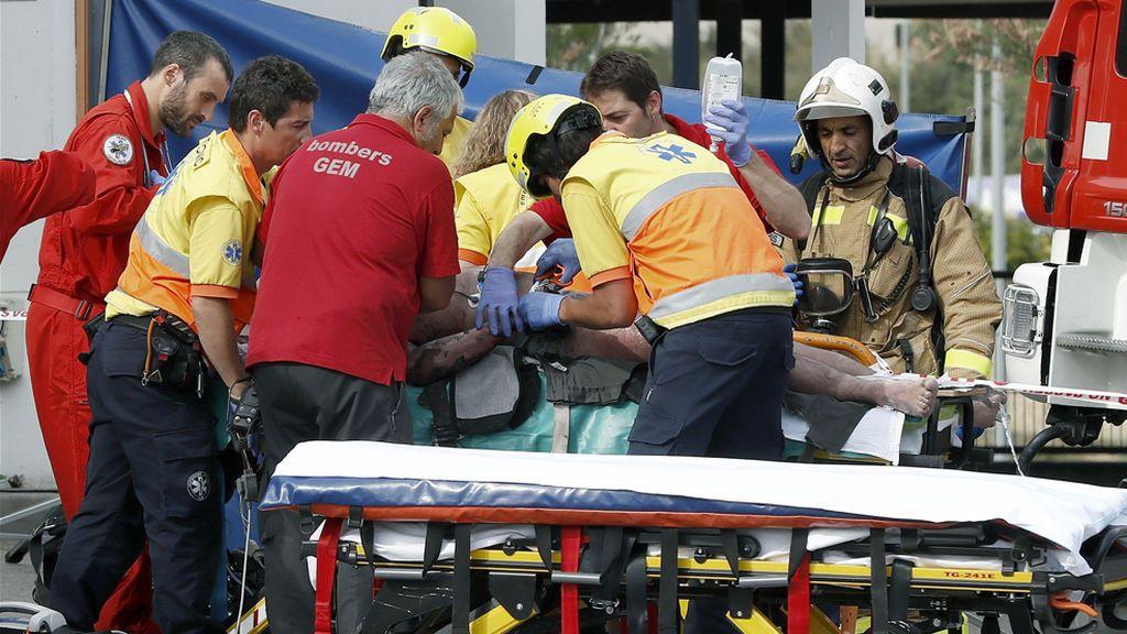 El incendio en una gasolinera en sadurn d 39 anoia deja un muerto y un herido grave - Tiempo en sant sadurni d anoia ...
