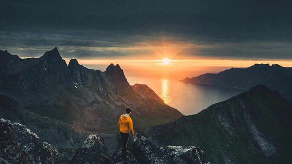 'Subir a las montañas y ser testigo de cómo el sol no se pone'