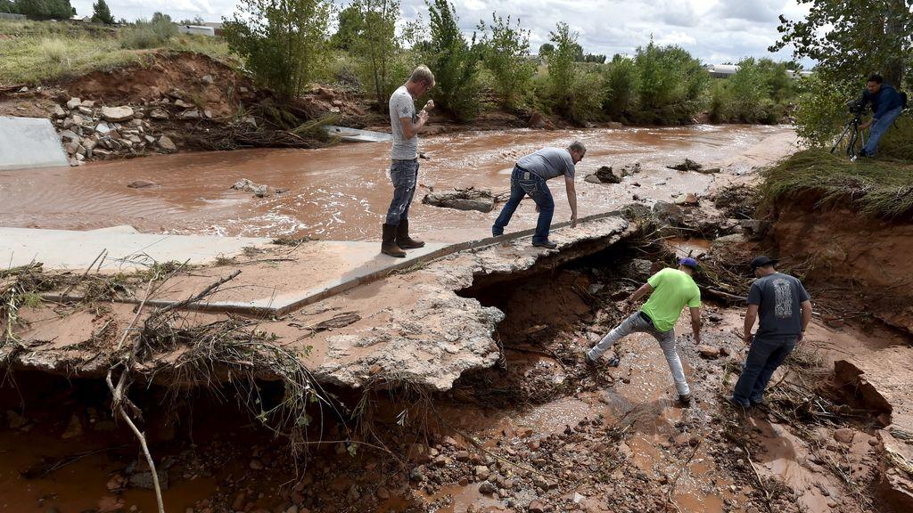 Inundaciones en Utah