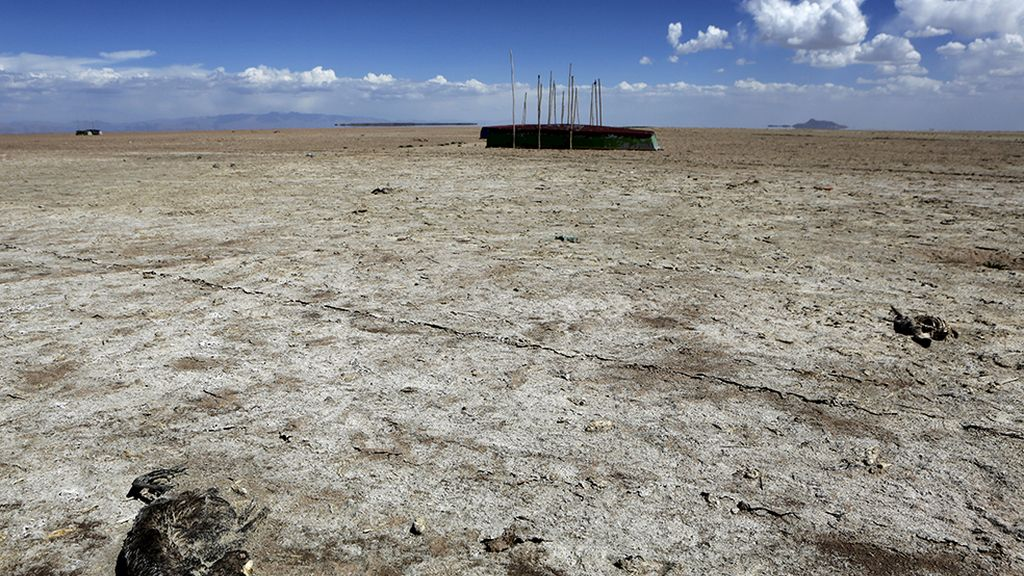 Desaparece el segundo lago más grande de Bolivia