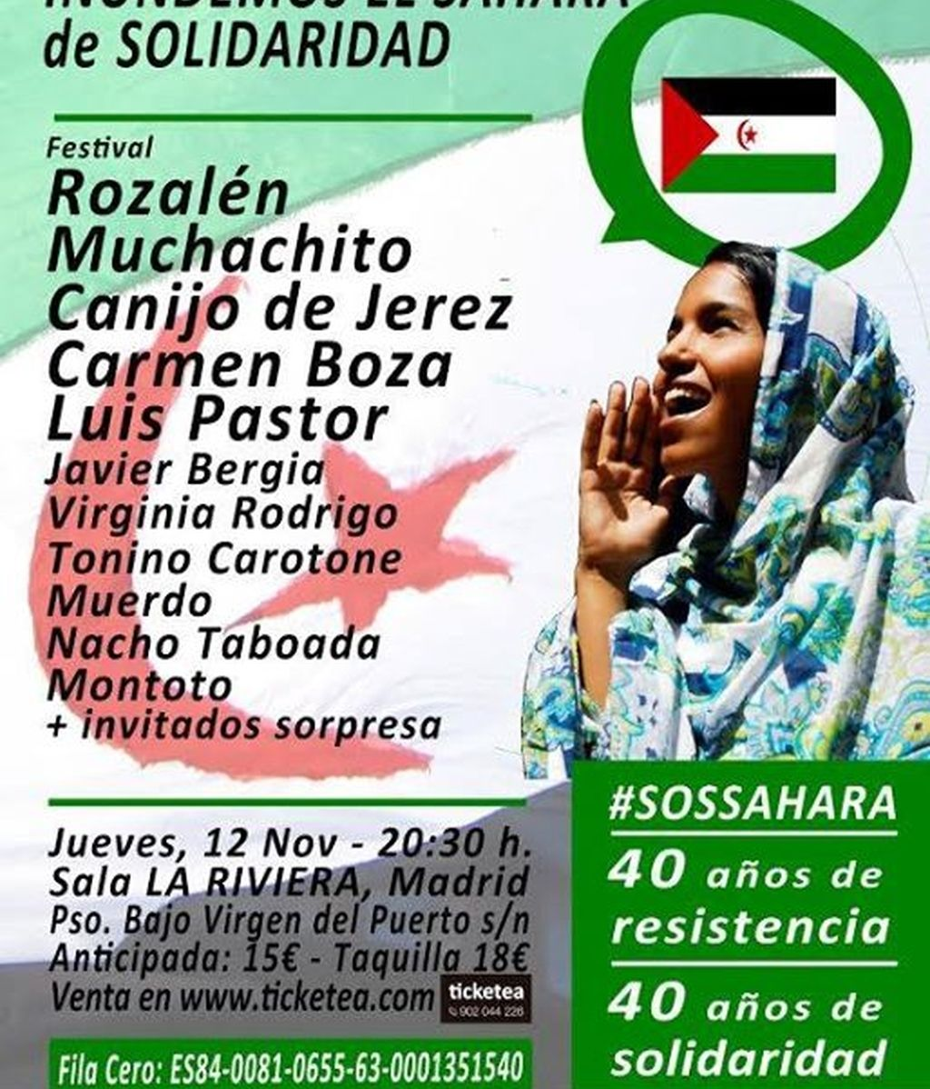 concierto saharauis