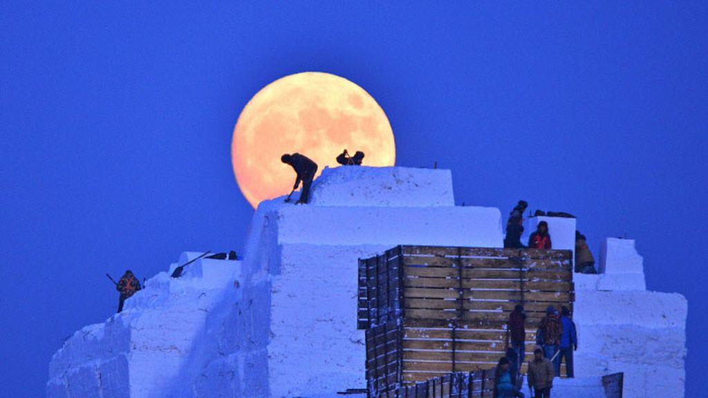 La última Superluna de diciembre brilló en los cielos de todo el mundo