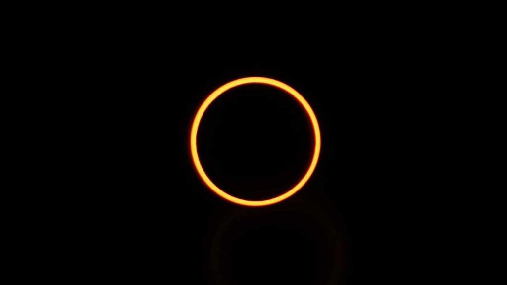 Algo más grande que tú es perfecto durante un instante: este eclipse anular de Sol